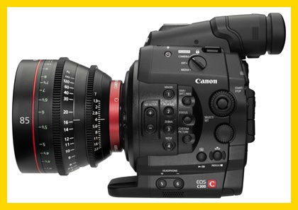 Rental Canon C300 Package EF